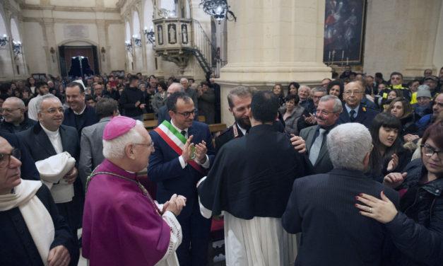 Don Giuseppe Gurciullo nuovo parroco della Chiesa Madre di Melilli