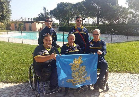 I siracusani dell'Aspet 4° ai lanci di Coppa Italia Fispes