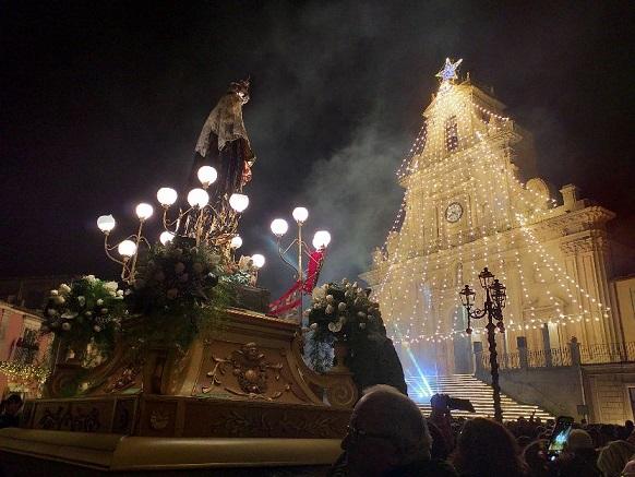 Palazzolo Acreide si affida alla Madonna