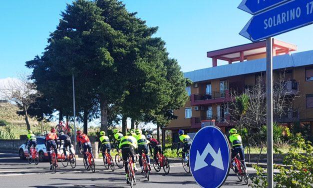 """Nibali sulle strade del """"Pantalica"""""""
