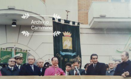 DAI NOSTRI ARCHIVI L'OMAGGIO DI CAMMINO A MONS. COSTANZO 1990-2020