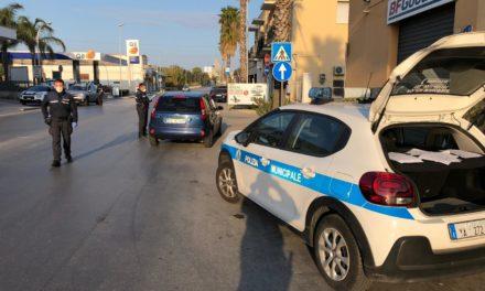 COVID-19: agenti municipali anche alla stazione e sulla pista ciclabile