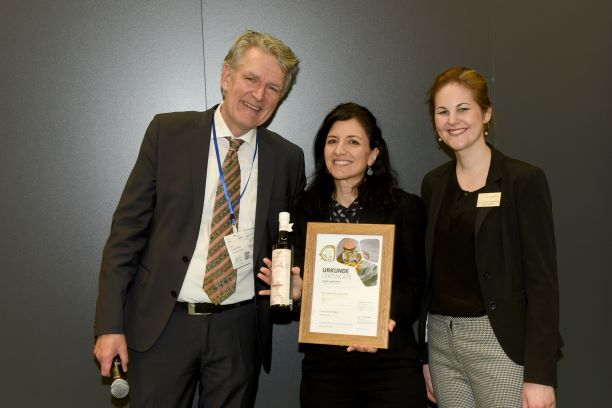 "Bronzo ""made in Syracuse"" all'Olive Oil Award Biofach 2020"