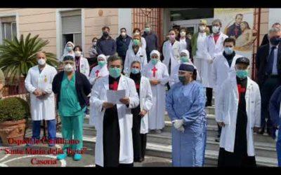 """Mons. Russo (Cei): """"Sosteniamo medici e operatori sanitari, siamo accanto ai malati"""""""