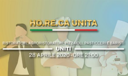 """#FASE2: La crisi del settore Ho.Re.Ca. tra rabbia e proposte, ieri """"Risorgiamo Italia"""""""