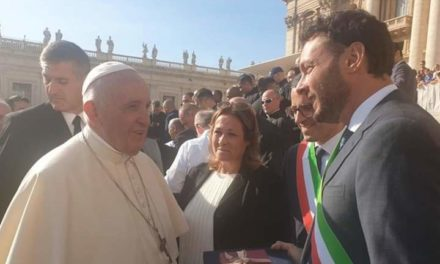 PAPA FRANCESCO AL SINDACO ITALIA: PREGO PER SIRACUSA