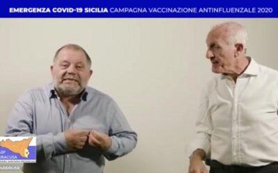 Toti e Totino per la Campagna di vaccinazione antinfluenzale