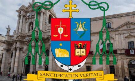 """I SEGNI DI FRANCESCO LOMANTO, ARCIVESCOVO DI SIRACUSA – """"Sanctificati in veritateˮ"""