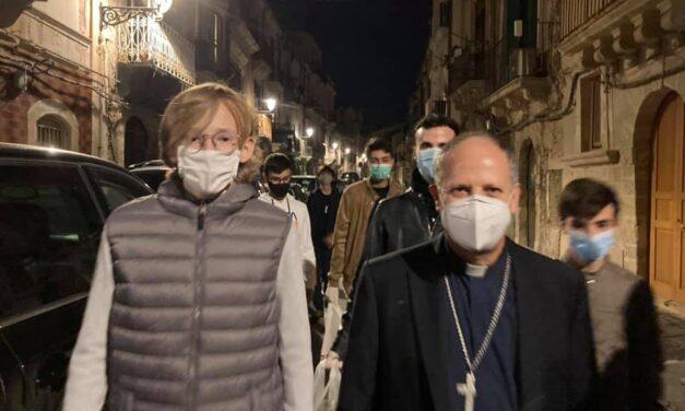 """L'ARCIVESCOVO LOMANTO AI SIRACUSANI: """"NON SCORAGGIATEVI"""""""