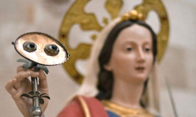 La Santa protettrice degli occhi e la devozione popolare in Sicilia