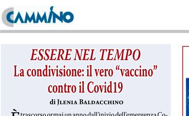 """La condivisione: il vero """"vaccino"""" contro il Covid19"""