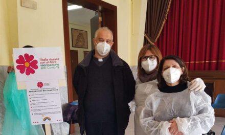 SABATO SANTO:221 le persone vaccinate in Diocesi nei centri parrocchiali