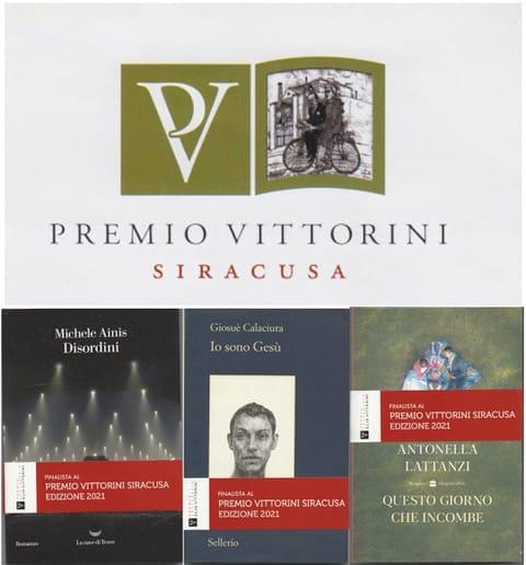 VITTORINI – I TRE FINALISTI: AINIS, CALACIURA E LATTANZI, PREMIO LOMBARDI PER L'EDITORIA INDIPENDENTE AD ALGRA
