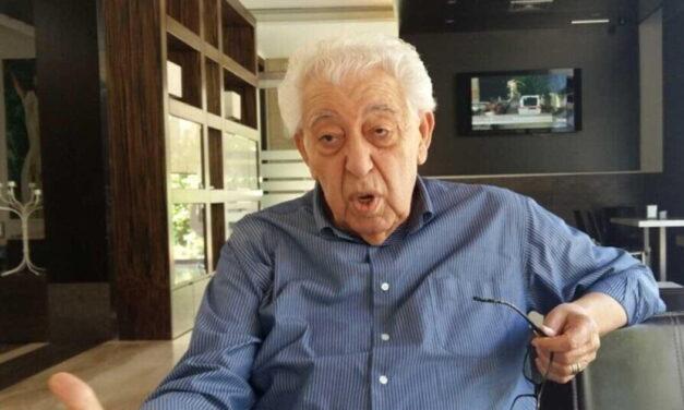 E' morto Gino Foti, sostenitore fino alla fine del primato della politica