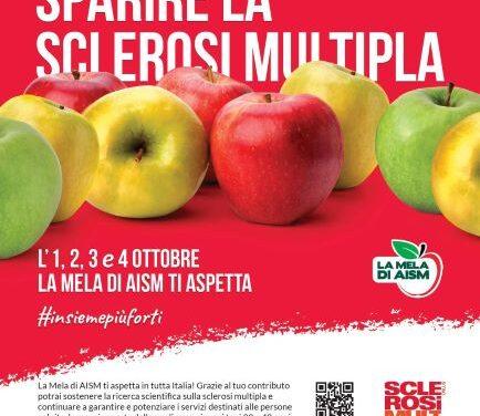 """""""La Mela di AISM""""oltre 2 milioni di mele ti aspettano per sostenere la lotta alla sclerosi multipla"""