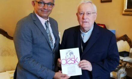 UCSI: Il neo presidente Varagona incontra il cardinale Bassetti
